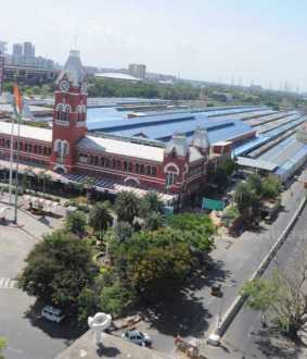 Chennai Central found without human presence