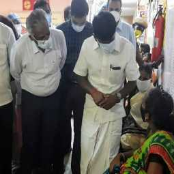 Health Minister inspects Chidambaram Hospital