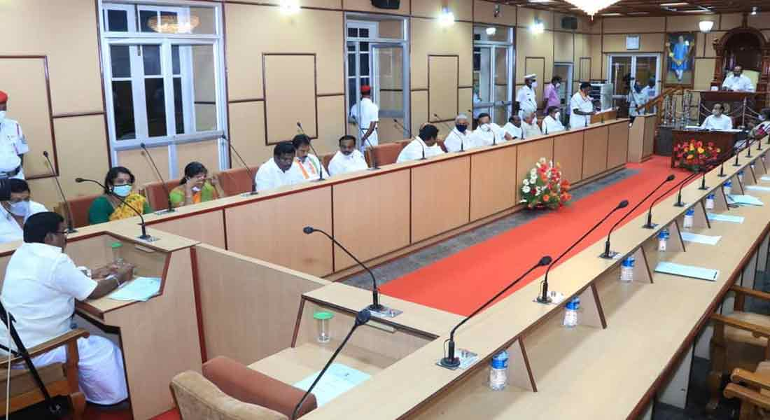 Puducherry files budget without Governor speech