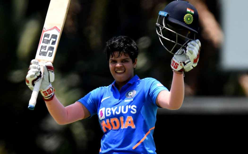 Shafali Verma becomes World top T20I batswoman