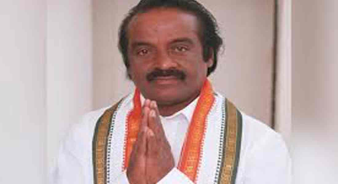 Congress MP Vasantha Kumar passes away