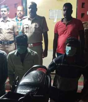 Those involved in serial vehicle theft arrested in Annamalai Nagar
