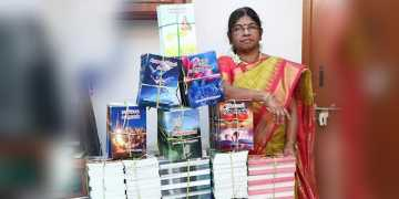 World record holder for publishing 40 tamil books simultaneously