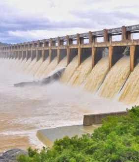 salem district, mettru dam water level