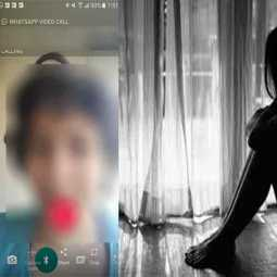watsapp video call - sexual abuse to nurse