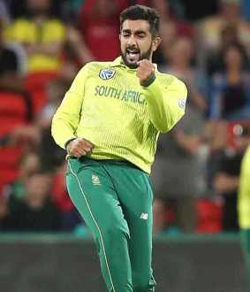 tabraiz shamsi magic in ground