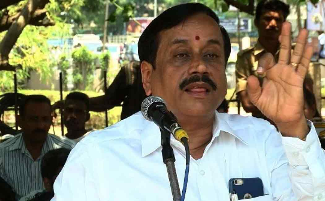h.raja about hindi imposition