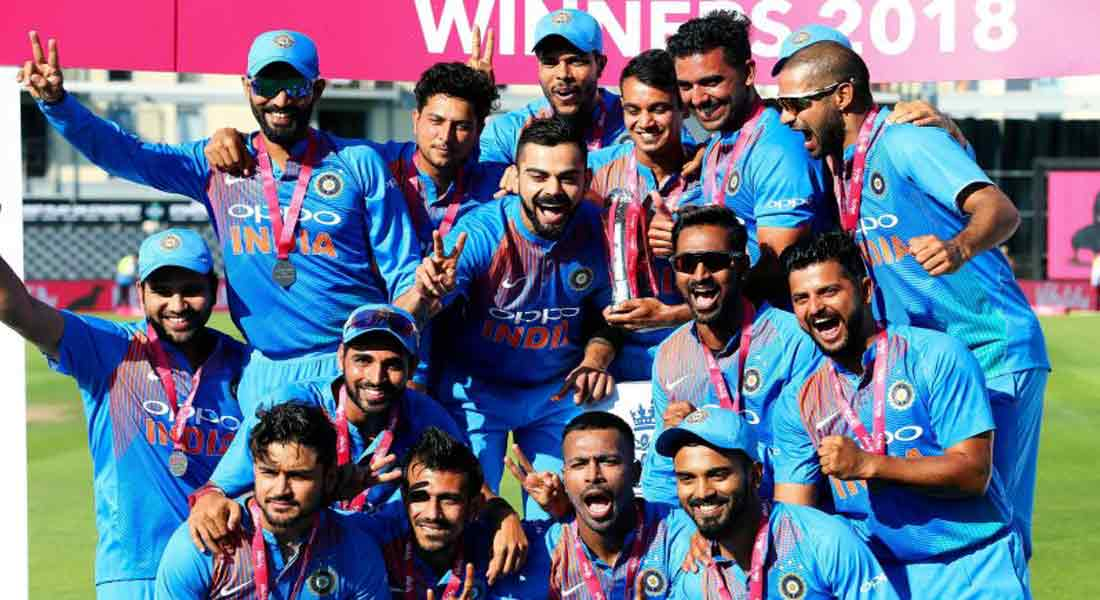 India won the T20 series