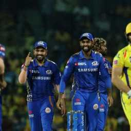 Mumbai won match against chennai super kings