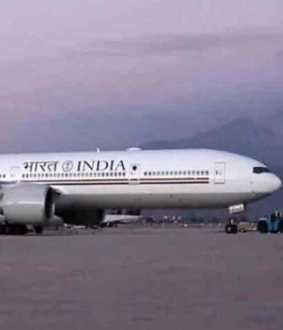 congress initiated air india one plans says bjp