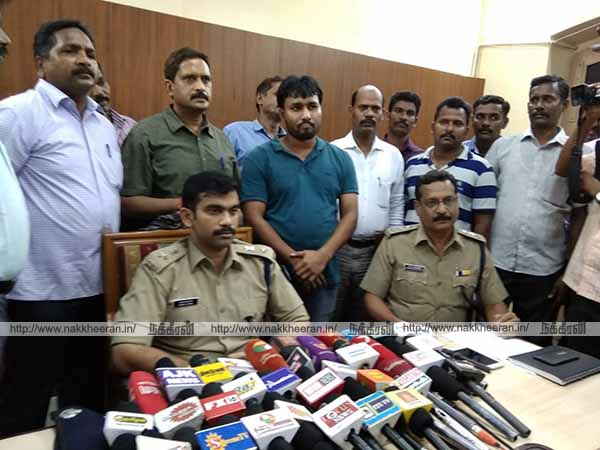 Chandrujay arrested in Puducherry ATM robbery gang