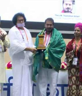 damimun Ansari won Best Young MLA award