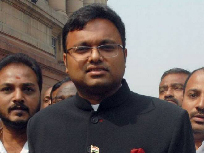 karti chidambaram about inx media case