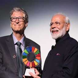 india pm narendra modi get it goal keepers award 2019