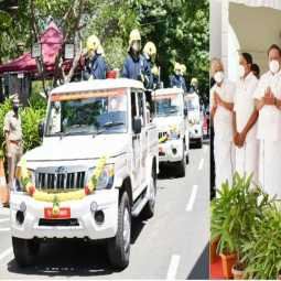CHENNAI CORONAVIRUS PREVENTION VEHICLES CM PALANISAMY