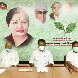 one more admk mla suspended eps and ops officially announced