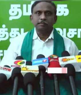 Chief Minister should clarify about Sasikala's health - BR Pandian
