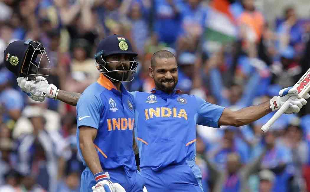 shikar dhawan ruled out of worldcup series due to injury