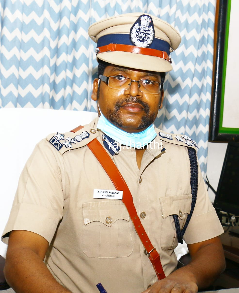 New police officers in Villupuram are in charge