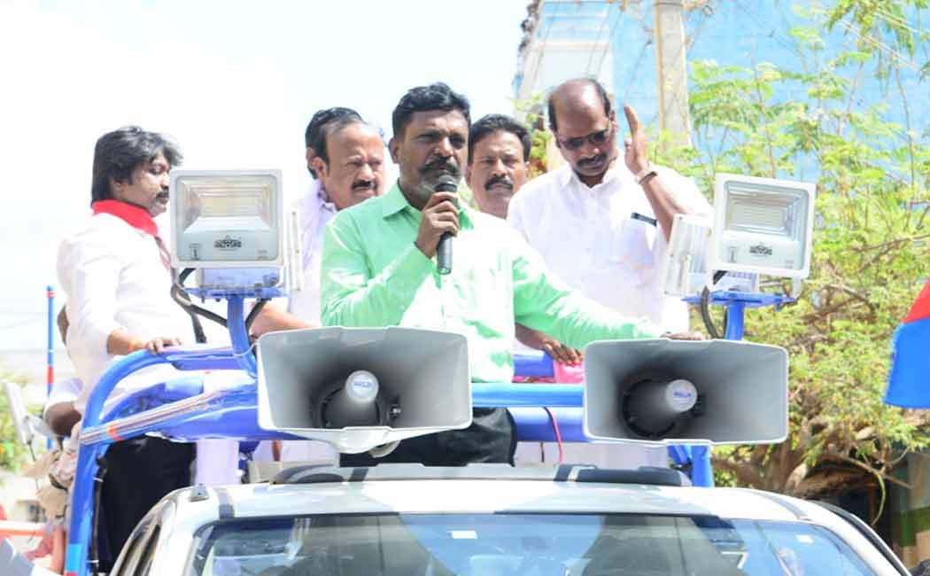 thirumavalavan election campaign