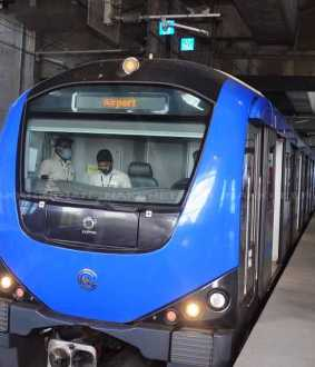 former chief minister kalainger name metro rail station