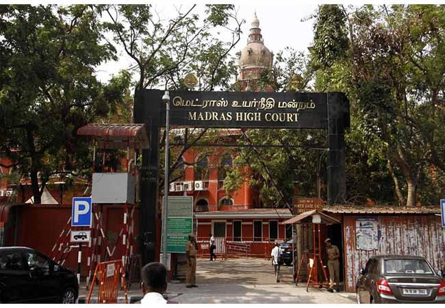 chennai high court 50% quota tamilnadu government