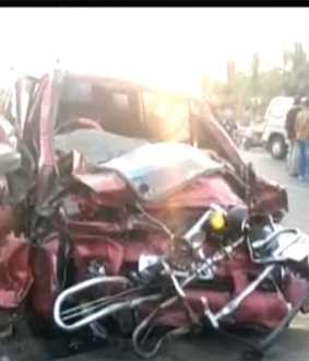 avinasi highway incident students car driver police investigation