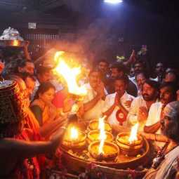 THIRUVANNAMALAI DISTRICT ANNAMALAIYAR TEMPLE KARTHIGAI DEEPAM FESTIVAL