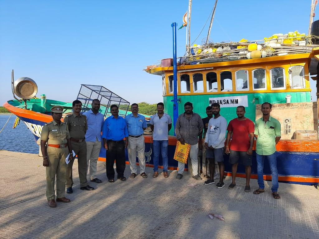 Is the boat going to Andaman intoxicated? Customs officials raided