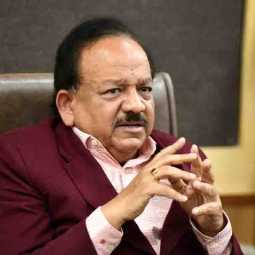 harsh vardhan health minister