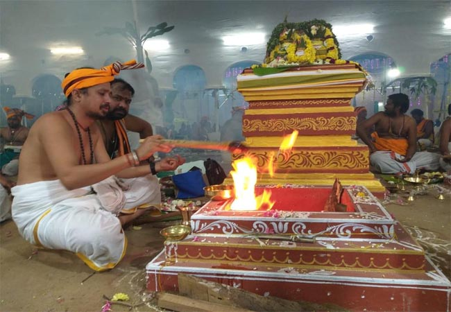 thanjai temple festival did not tamil used again petition