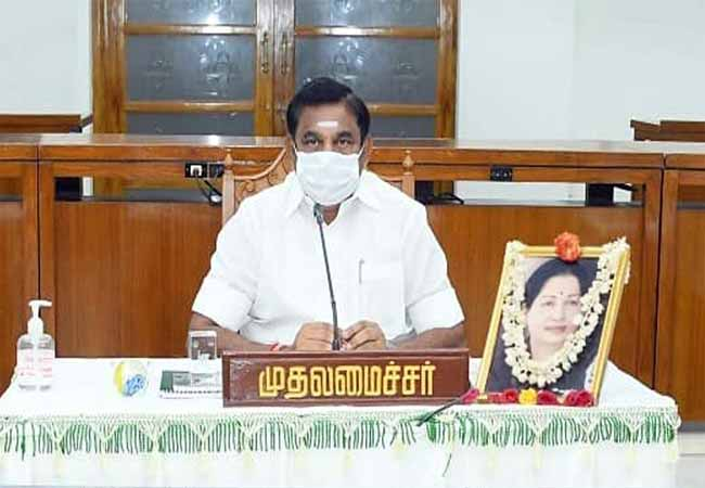 tamilnadu cm palanisamy coronavirus tests is negative announced government