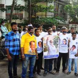 ACTOR RAJINIKANTH BIRTHDAY CHENNAI POES GARDEN