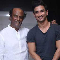 sushant with rajni
