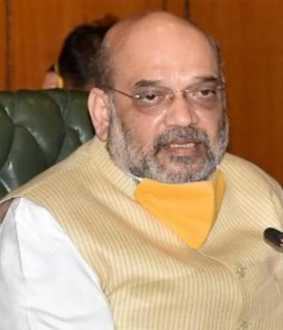 union home minister spoke with amit shah