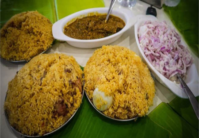 vellore ambur biriyani demand