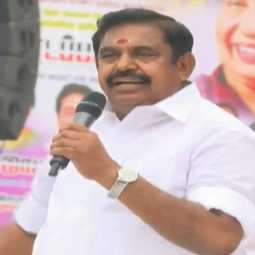 Edappadi palanisamy speech at walaja
