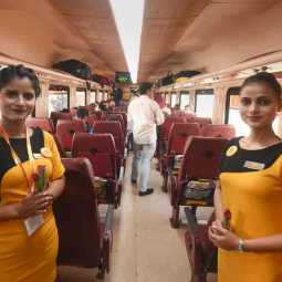 tejas express controversy on high ticket prize