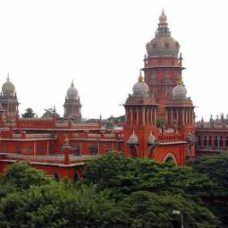without permission building infrastructure officers chennai high court