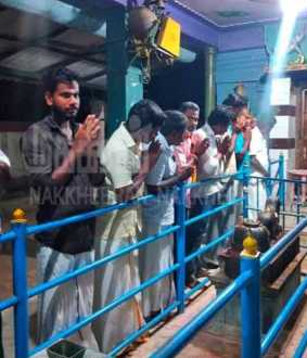 Fans pay special homage to DMDK leader Vijayakanth
