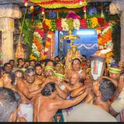 trichy district sri rangam Vaikunta Ekadesi festival