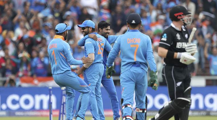 INDIA VS NEW ZEALAND SEMI FINAL MATCH NEW ZEALAND WIN