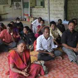 People with disabilities have been waiting at the taluka office for two days ..!