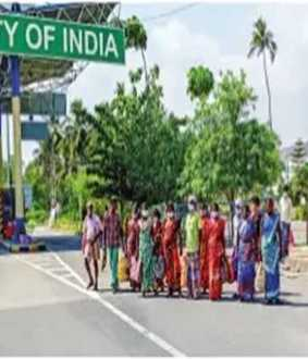 SALEM TO KALLAKURICHI DAILY WAGES EMPLOYEES WALKING