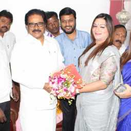 Apsara Reddy - Thirunavukkarasar Meet
