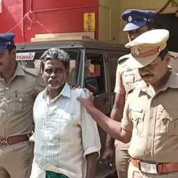50 years old ramasamy arrested under pocso act thirupattur district