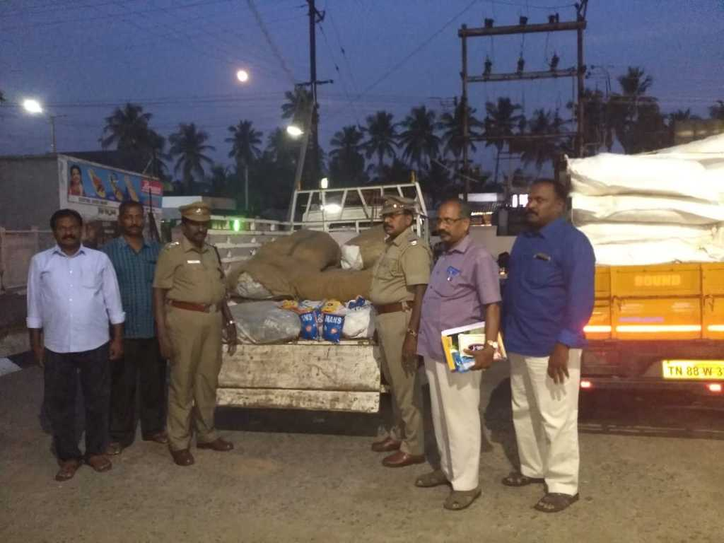 "3,000 kg of ""Kudka"" police caught in Namakkal"
