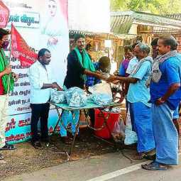 free food in vallalara birthday by naam tamilar