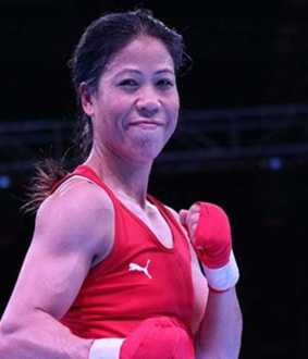 Mary Kom wins 2020 Olympic boxing qualifier match