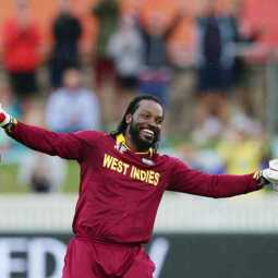 chris gayle becomes topper in the list of most sixes by a batsman in worldcup history
